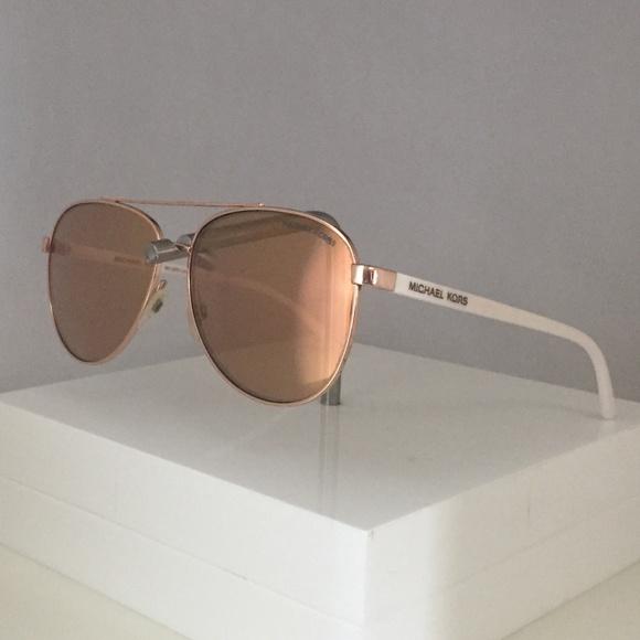 2863ee1267ab Michael Kors White Hvar (MK5007) Sunglasses Frames.  M_5b624fd7baebf67ad5115ba7